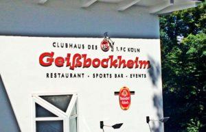 Foto Haupteingang Geißbockheim
