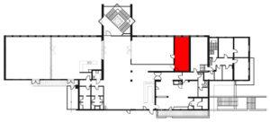 Raumplan Vorstandszimmer