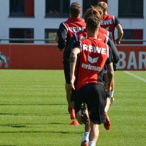 Training des 1. FC Köln